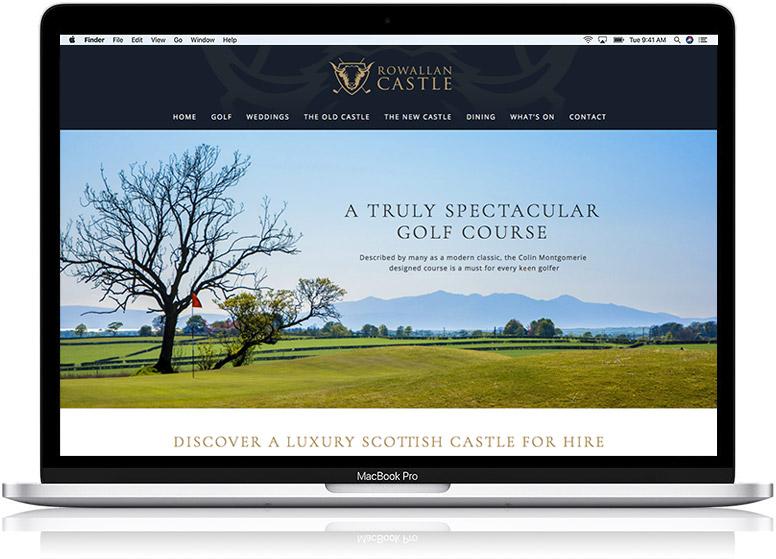 website design work rowan