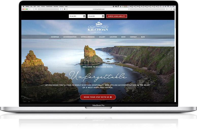 website design laptop Kilchoan